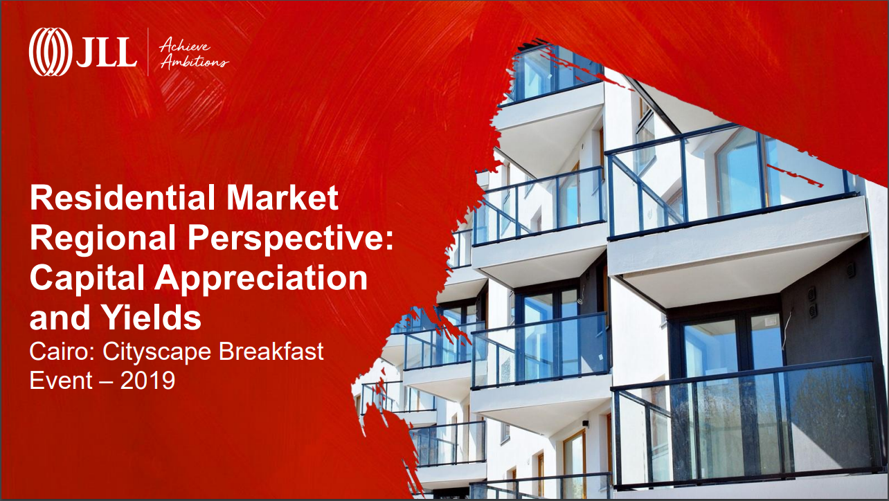 Residential Market Regional Perspective: Capital Appreciation and Yields