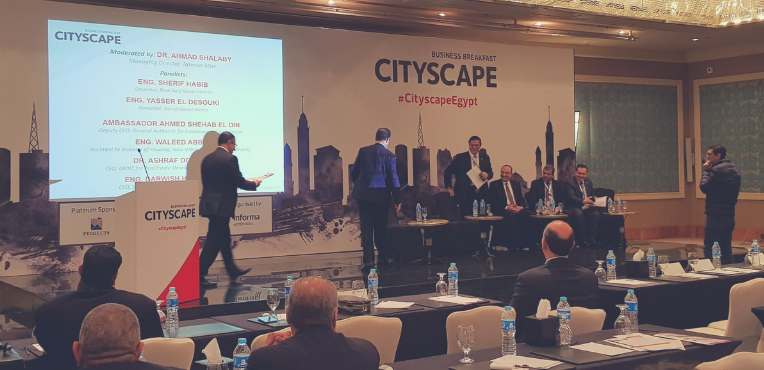 Cityscape Egypt Business Breakfast